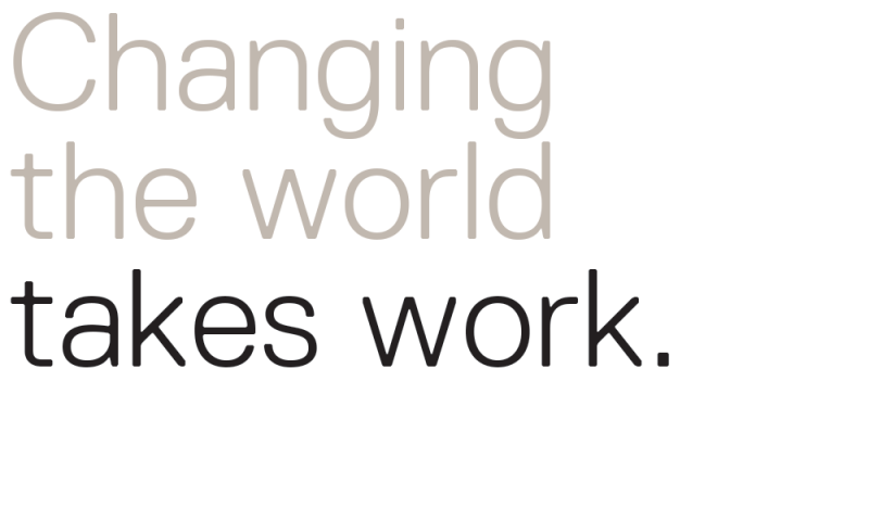 changing-the-world-takes-work