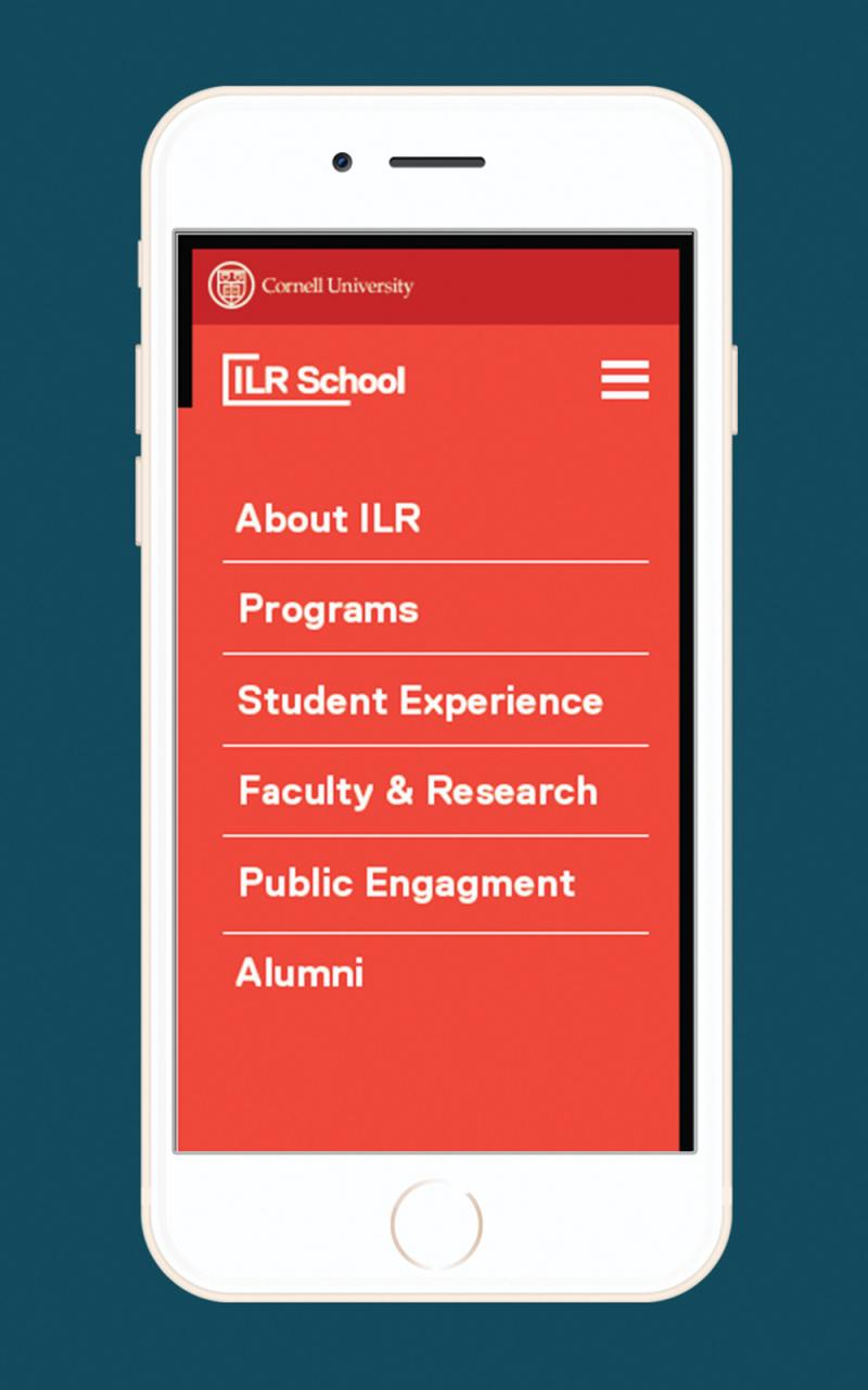 sample-mobile-homepage-2-red-screen-white-text