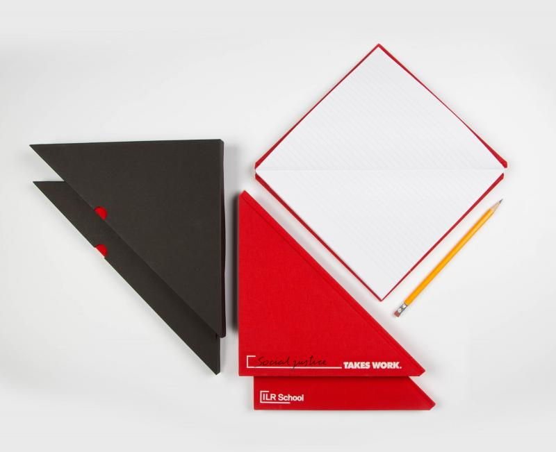 sample-triangle-shaped-red-notebook