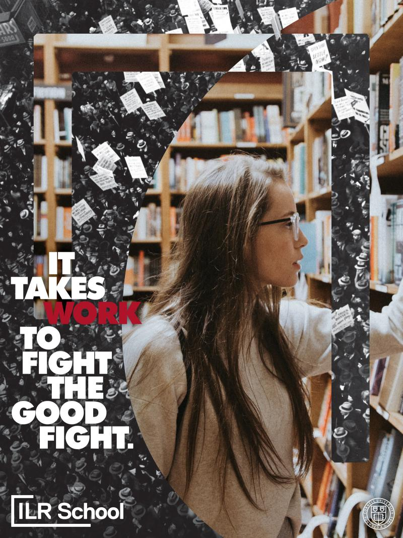 sample-poster-woman-in-library-bw-protest-bold-text